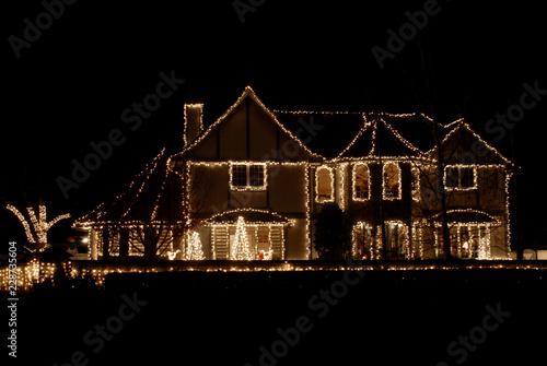 Carta da parati Christmas lights
