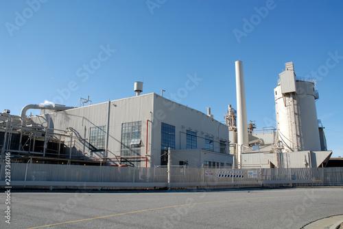 Staande foto Industrial geb. Factory