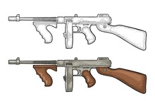 Gangsters Automatic Weapon Tom...