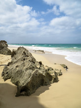 Felsen An Der Praia De Santa M...