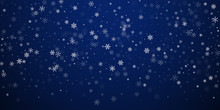 Sparse Snowfall Christmas Back...