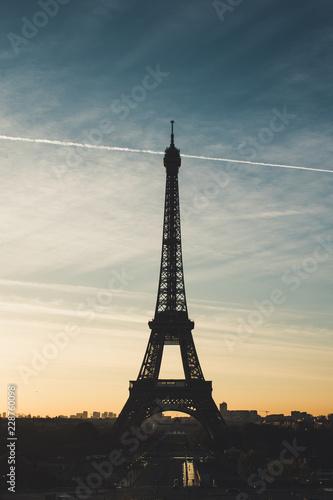Staande foto Parijs Eiffel Tower, Paris, France