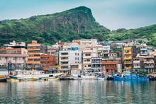 Yehliu Fishing Harbor In Taiwan