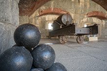 Cannon Balls And A Canon