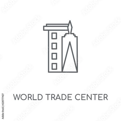 фотография  world trade center icon