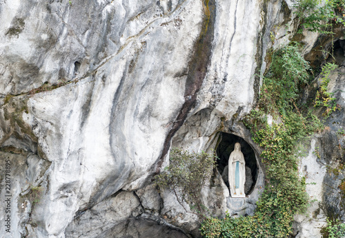 Photo  Sanctuary of Lourdes in France