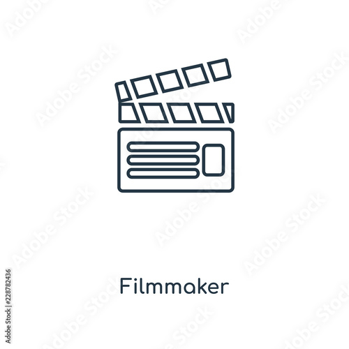 Fotografie, Obraz  filmmaker icon vector