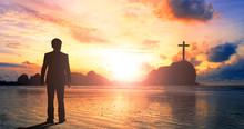 Worship And Praise Concept: Bu...