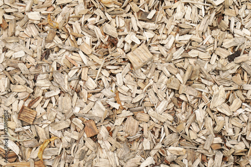 Valokuva  wood shavings or wood chippings or sawdust background