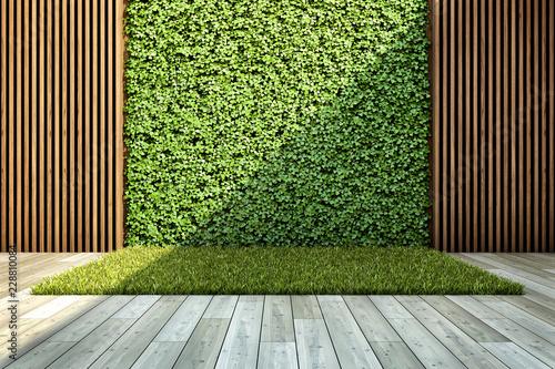 Obraz Inner courtyard - fototapety do salonu