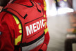 Details of a paramedic uniform