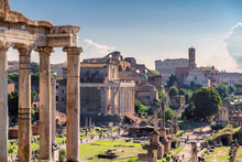 Ruins Of The Roman Forum In Ro...
