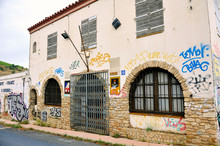 Customs Office Between France And Spain Abandoned