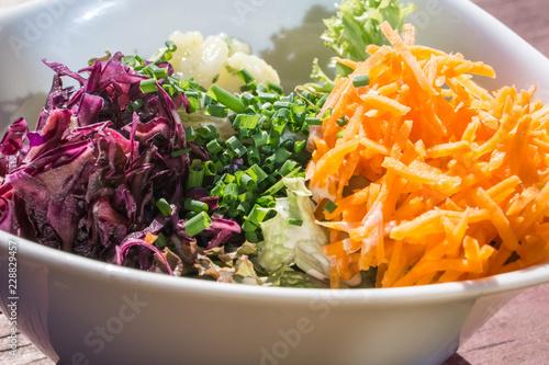 Recess Fitting Appetizer gemischter salat