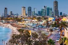 Beautiful View Of The Tel Aviv.