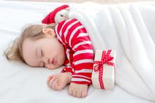 Toddler Boy Sleeping In His Ho...