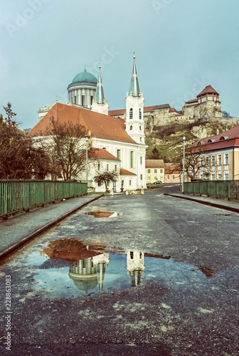 Saint Ignatius church and basilica in Esztergom, Hungary Wallpaper Mural