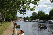 Summer Views Over Thorpe River Green, Norwich, Norfolk, England, UK