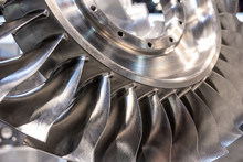 CNC Milled Turbine Disk With Blades