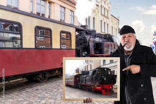 Molli, Lokomotive durch Bad Doberan