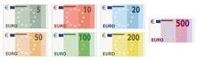 Euro Scheine / Währung / Bank...