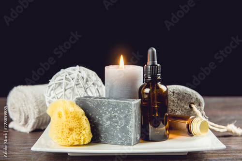 Fotografie, Obraz  Man spa relaxation concept