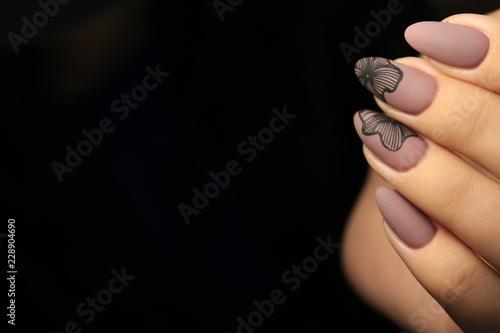 Obraz na plátně glamorous manicure design