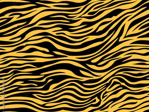 stripe animals jungle tiger zebra fur texture pattern seamless repeating orange yellow black