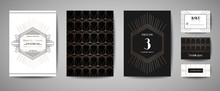 Art Deco Luxury Wedding Save T...