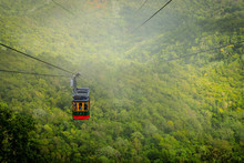 Cable Car Cabin On Mount Isabe...
