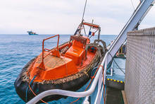 Lifeboat Or FRC Fast Rescue Cr...