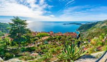 Eze Village At French Riviera ...