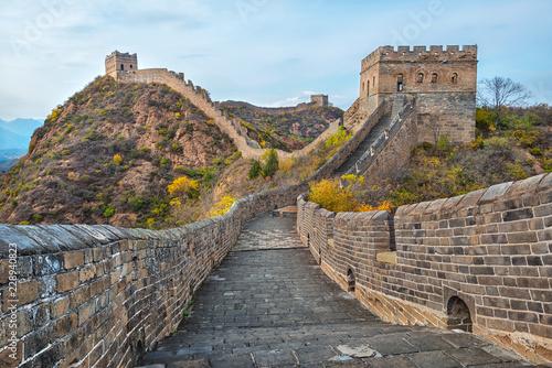 The beautiful great wall of China Wallpaper Mural