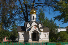 Borisoglebsky Monastery, Chapel Of Holy Spirit, Dmitrov, Moscow Region, Russia