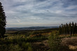 Landschaft mit Wolkenformationen. Im Siegerland