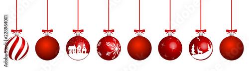 Foto  Weihnachtskugeln
