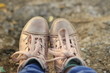 shoes, shoe, footwear, pair, isolated, leather, white, boot, old, sneakers, foot, fashion, boots, clothing, brown, dirty, two, sport, baby, walking, feet, lace