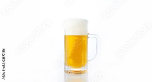 Spoed Fotobehang Bier / Cider Draft beer
