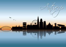 Antwerp Skyline - Belgium