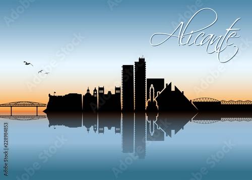 Alicante skyline - Spain