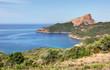 Paysages de Corse-Route de Piana vers Arone
