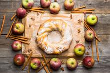 Apple Bundt Cake On The Rustic...