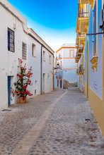 Ibiza, Typical Pedestrian Stre...