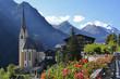 canvas print picture - Pfarrkirche  Heiligenblut