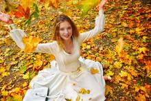 Autumn Fashion Feminity Lace D...