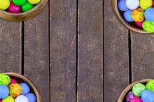Set Four Bowls Of Colorful Bri...