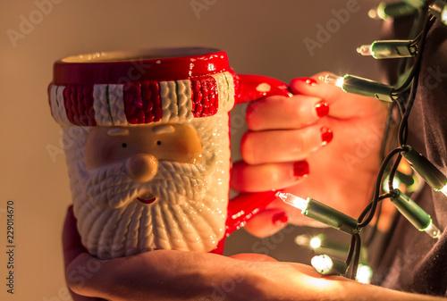 Kubek z Mikołajem