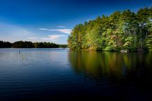 Massabesic Lake In New Hampshi...