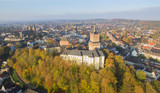 Aerial view on the Schwanenburg castle