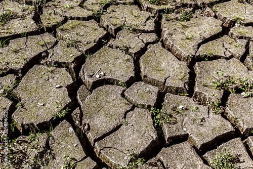 Fotografie, Obraz  ein ausgetrockneter See